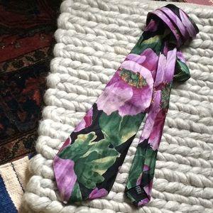 Nordstrom Accessories - NORDSTROM ITALIAN Made Silk Floral Tie
